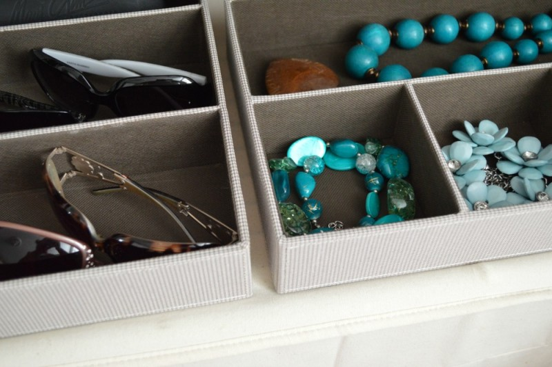 Accessory Storage - Divided Organizer for Sunglasses, Jewelry...