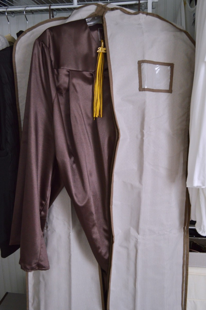 Special Keepsake Garment Bag - Cap & Gown