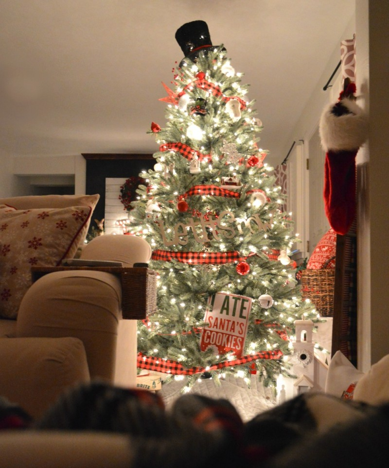 9 Cozy Cottage Nighttime Christmas Lights Tour