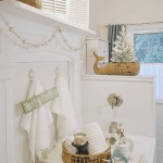 Coastal Cottage Christmas Bath