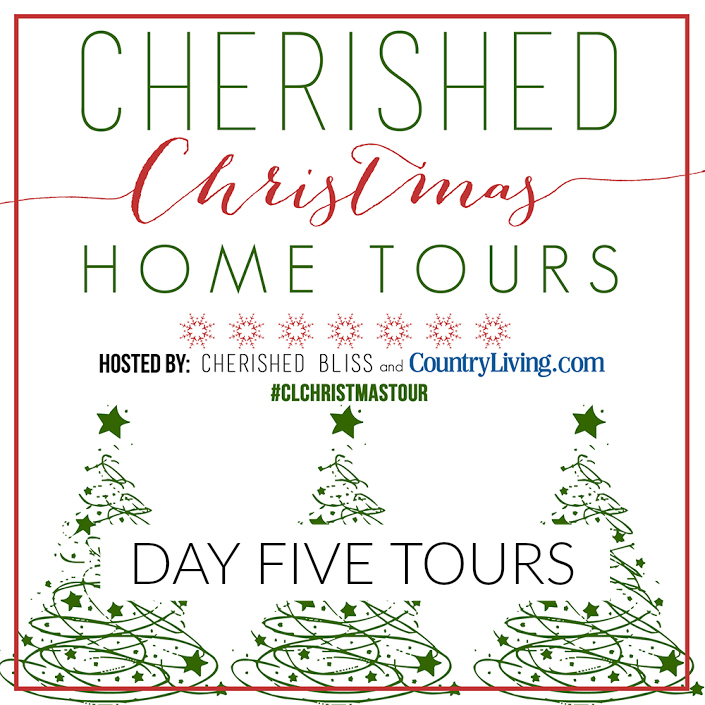 Country Living Christmas Home Tours Day Five www.foxhollowcottage.com