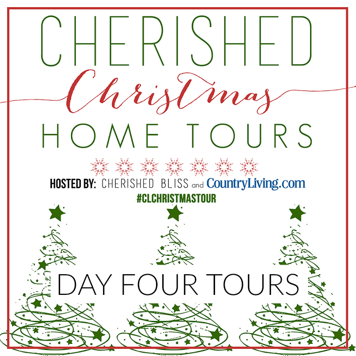 Country Living Christmas Home Tours Day Four www.foxhollowcottage.com