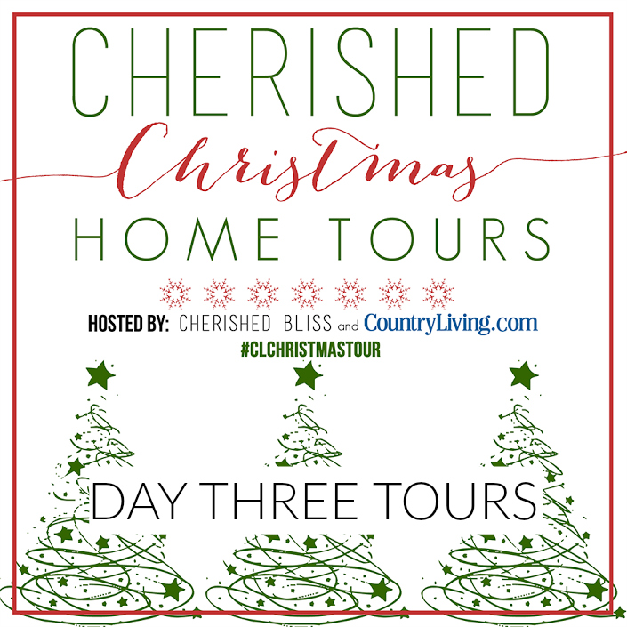 Country Living Christmas Home Tours Day Three www.foxhollowcottage.com