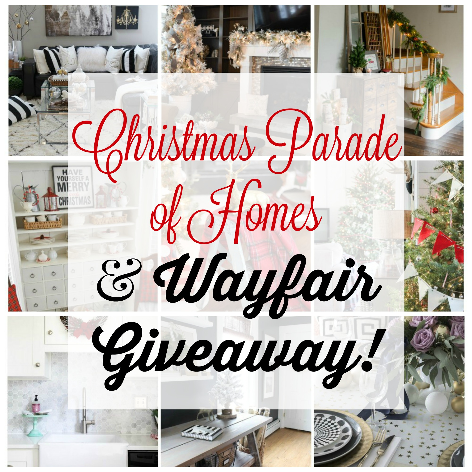 Wayfair Christmas Giveaway at Fox Hollow Cottage blog