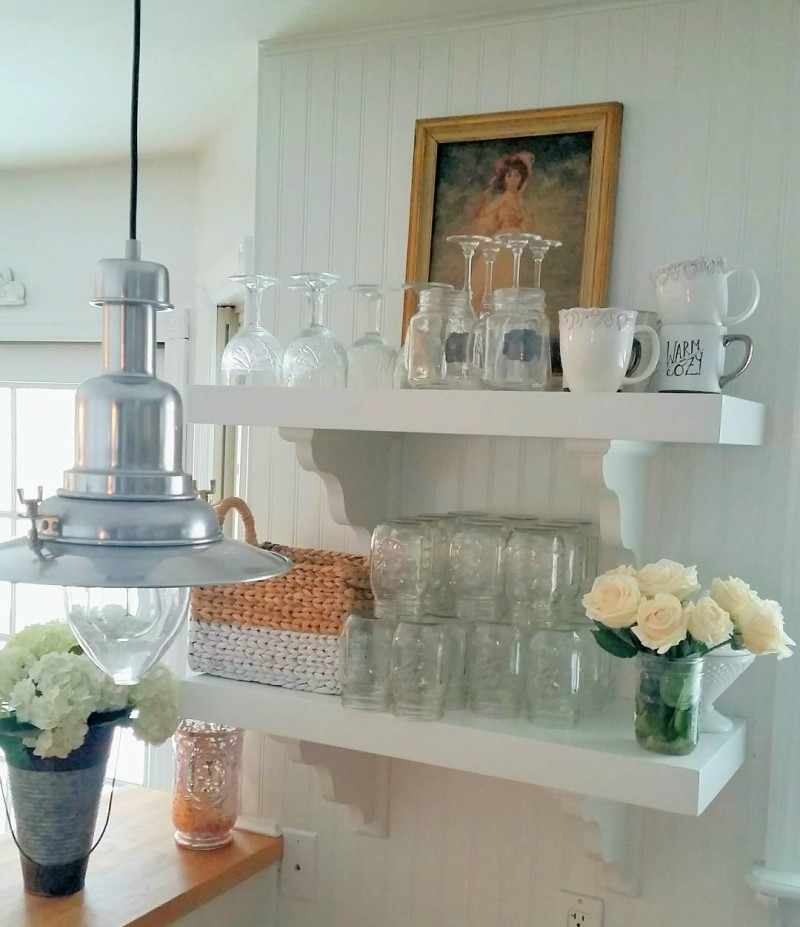 20 Charming Cottage Style Kitchen Decors: Living And Loving Cottage Style Home Tour