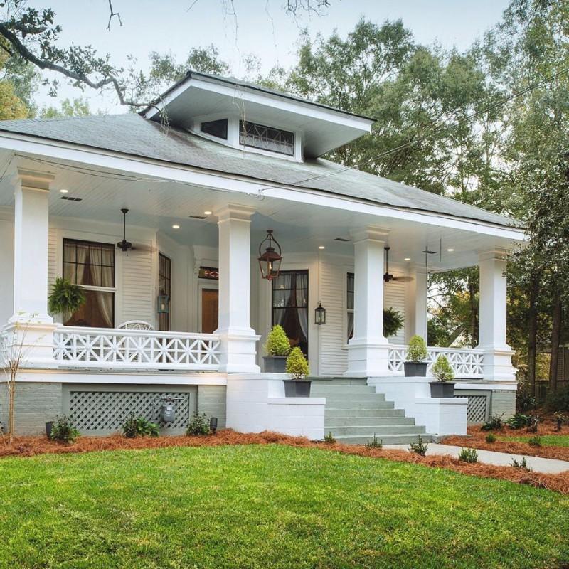 Phantom Screens Southern Romance Idea House - Mobile Alabama