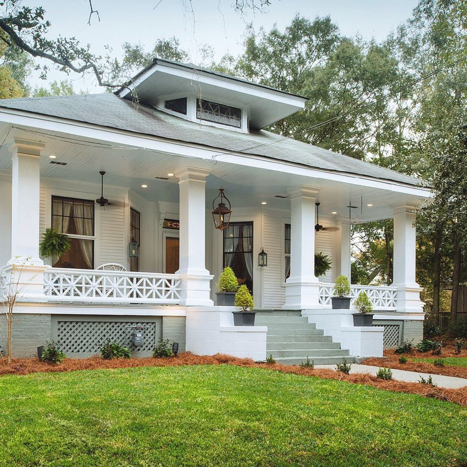 Historic Southern Home Makeover Craftsman Style Alabama House Renovation