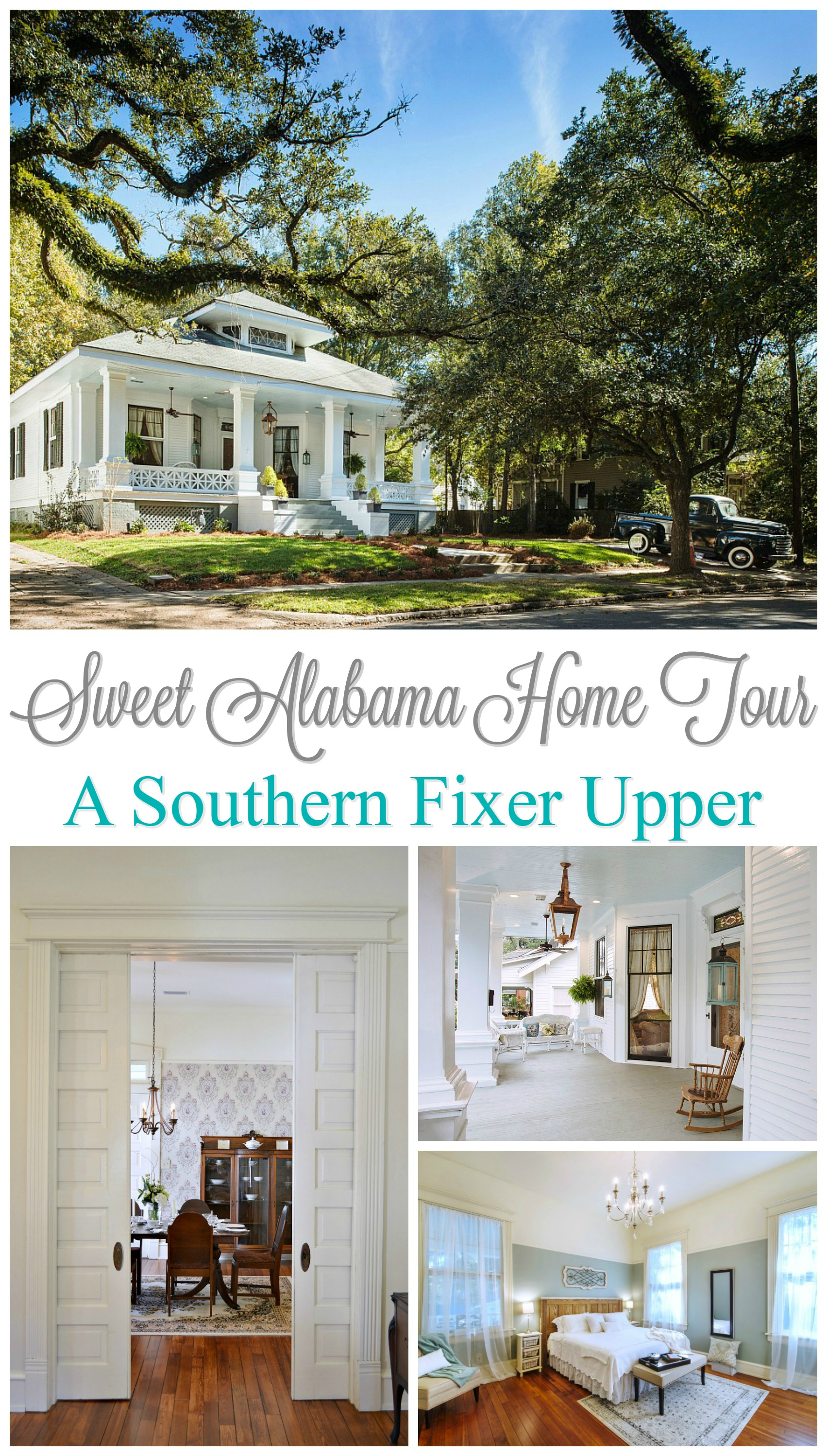 """Sweet Home Alabama. Southern Style Fixer Upper """"After"""" Home Tour/Reveal"""