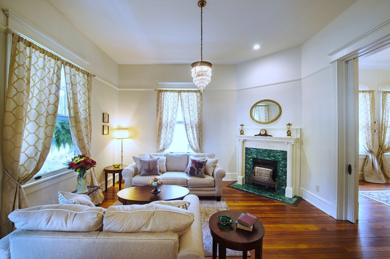 Renovated Southern Home with Original Victorian Fireplace