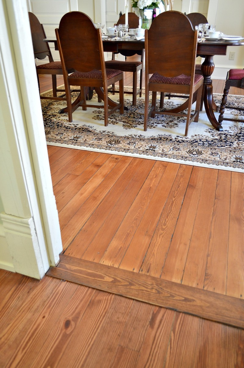 oringinal hard wood flooring