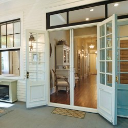 Year Round Southern Outdoor Porch Entertaining