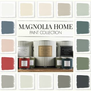 Did you know about the Magnolia Home paint collection by Joanna Gaines