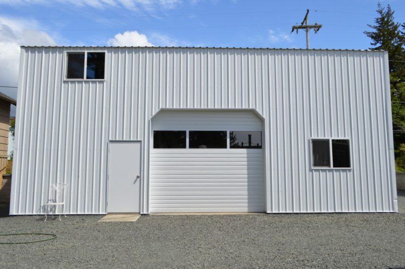 Fox Hollow Cottage Workshop - Metal Pole Building 1