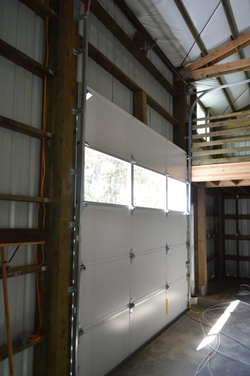 Fox Hollow Cottage Workshop - Metal Pole Building - Garage Door, Metal Tracks