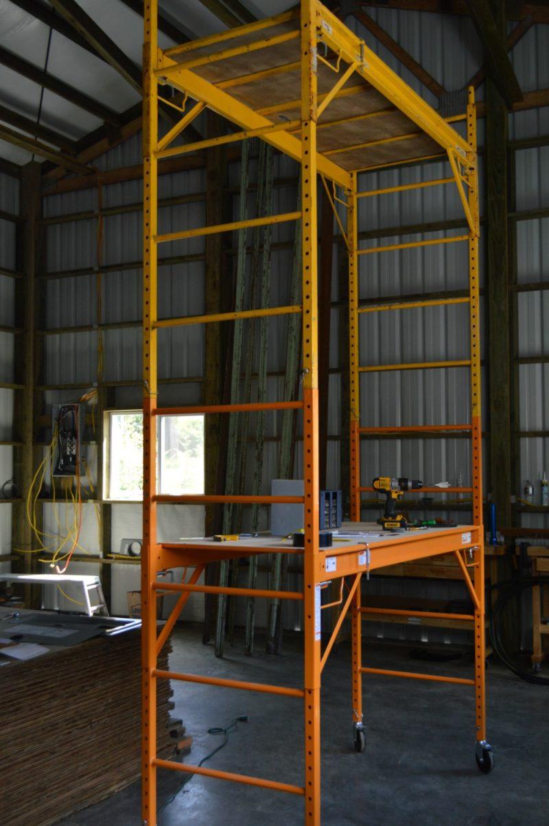 Fox Hollow Cottage Workshop - Metal Pole Building Interior 2