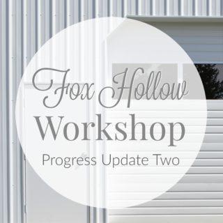 Fox Hollow Cottage progress update two