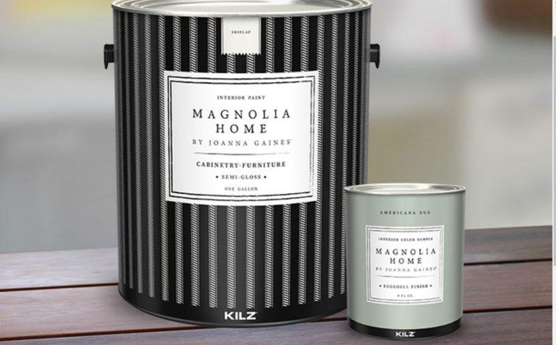 Magnolia Home paint line - Kilz - Joanna Gaines