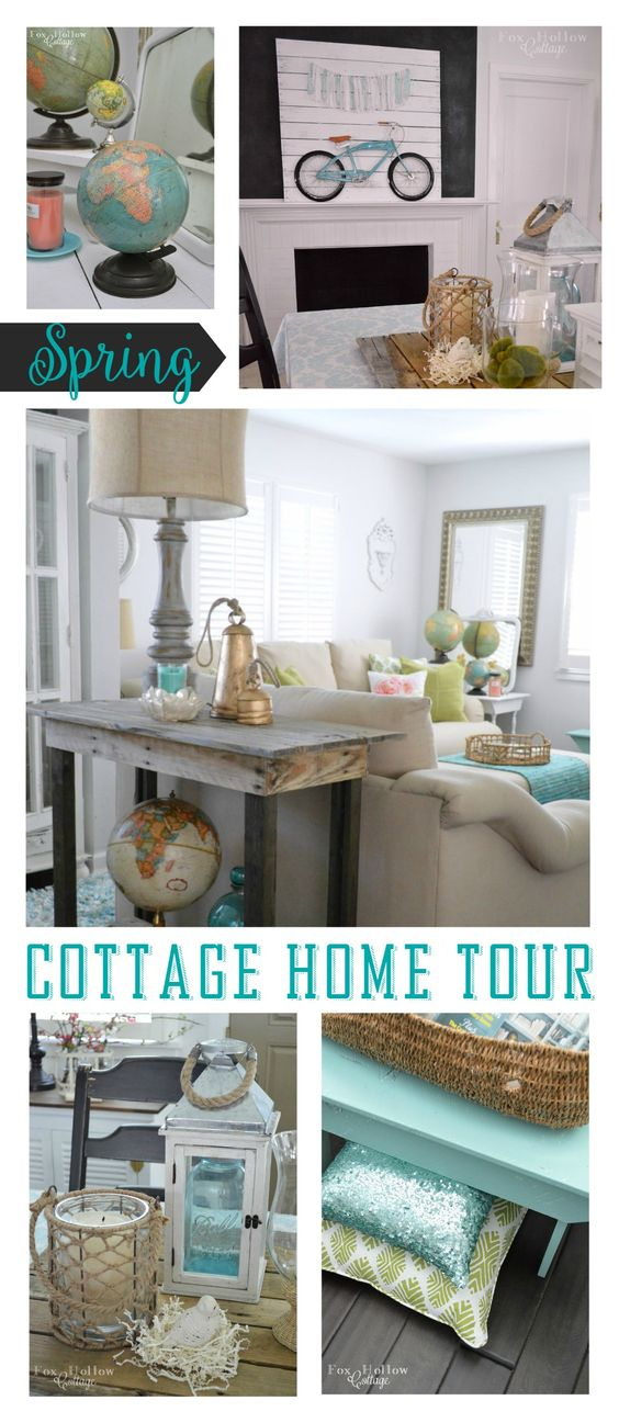 Spring Home Tour at Fox Hollow Cottage
