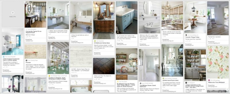 The Little Cottage Pinterest Inspiration Board - Kitchen, Guest Room, Loft, Living Room, Bathroom
