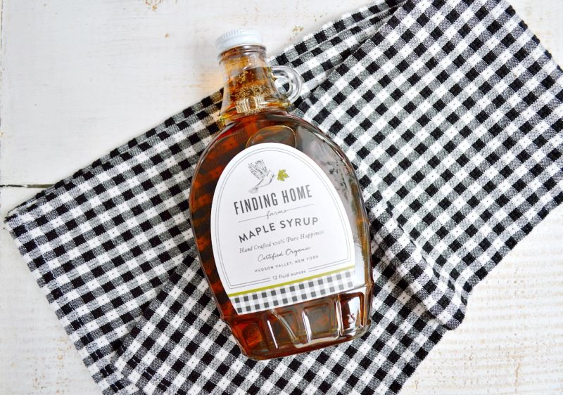 Finding Home Farms 100% Organic Maple Syrup from the Hudson Valley, NY