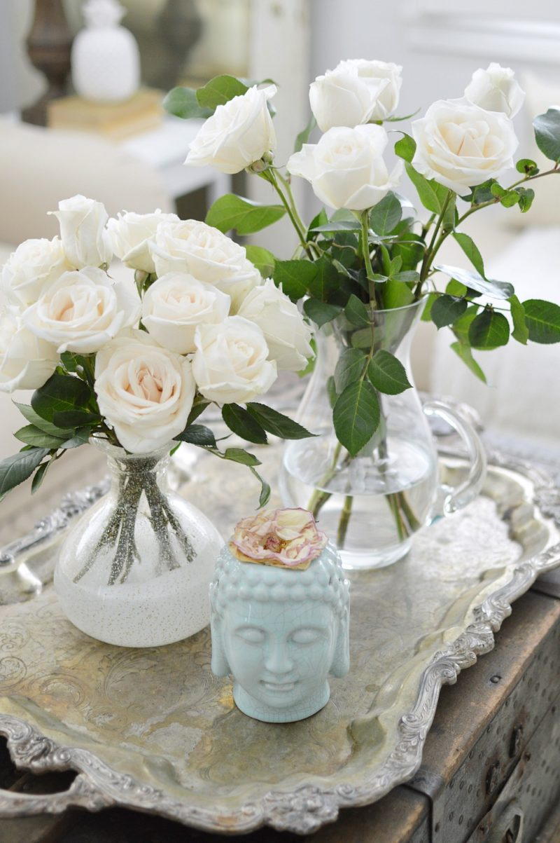 Spring Roses - foxhollowcottage.com - Fox Hollow Cottage Home Tour