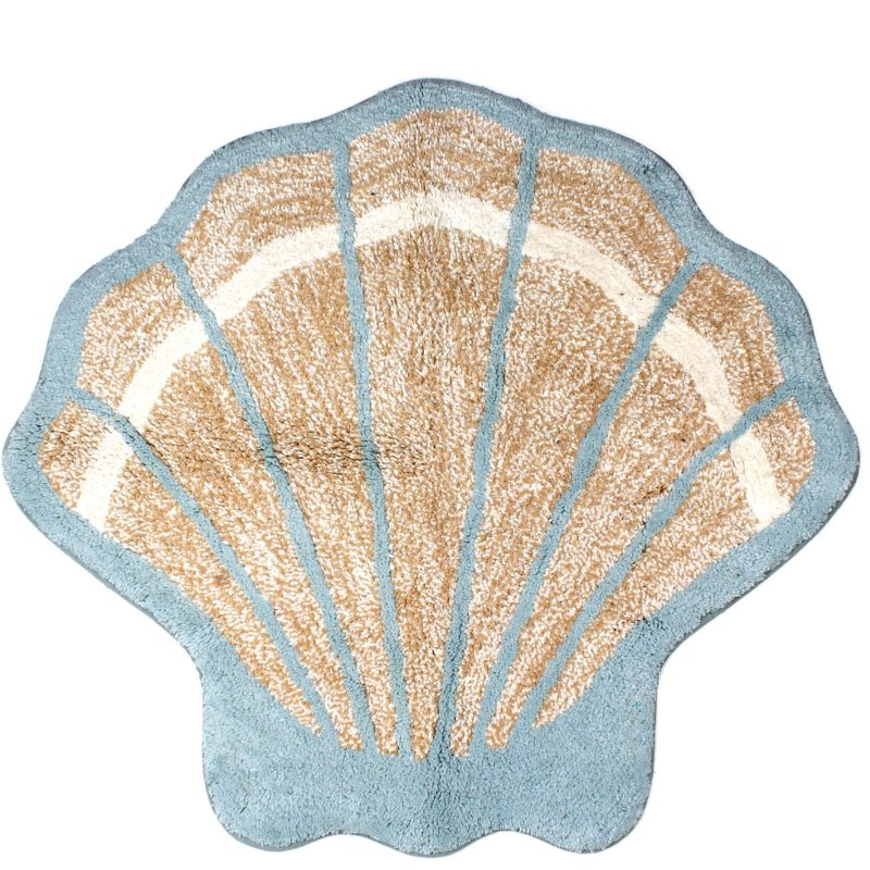 Seashell Bath Rugs With Popular Photos In Spain Eyagci Com