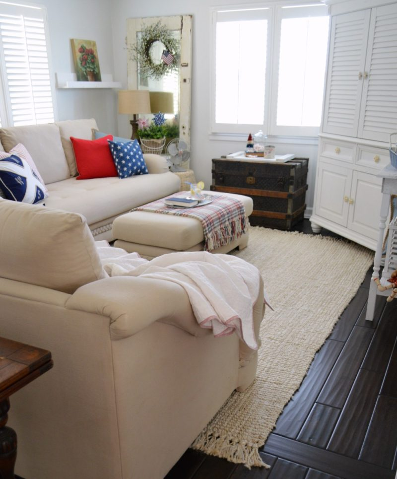 Fox Hollow Cottage Summer Living Room 2016