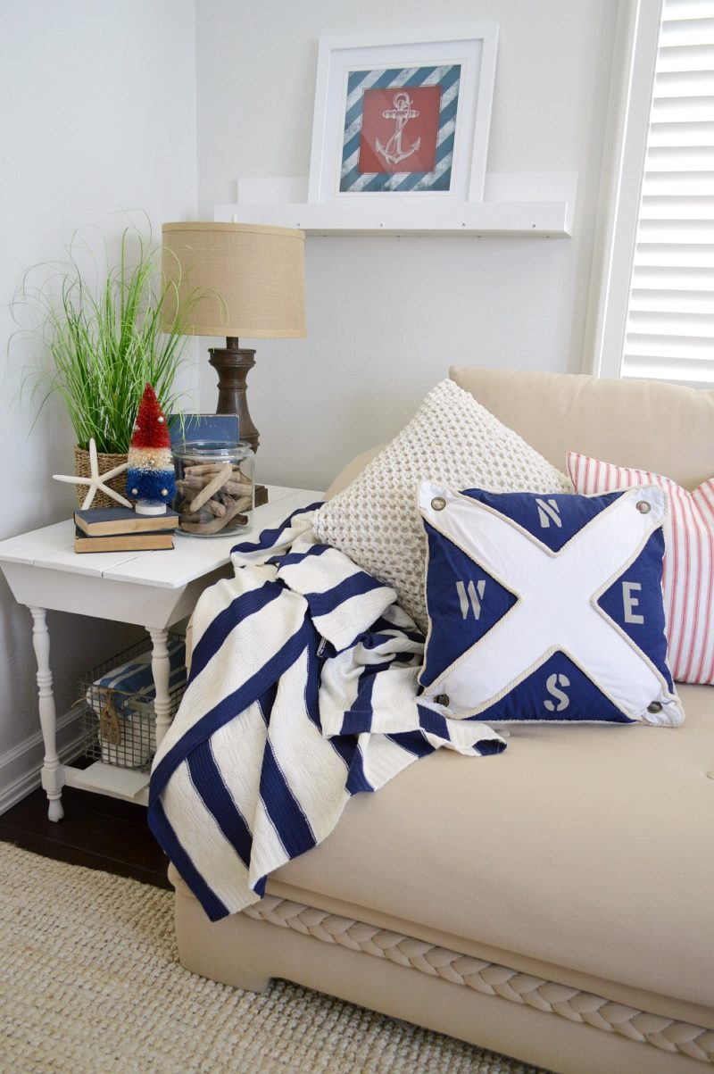 Nautical Summer Decorating at Fox Hollow Cottage blog