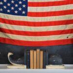 Patriotic Summer Cottage Living Room