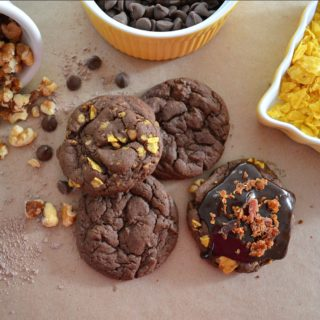 How To Make Drop Dead Wicked Delicious Cookies - Recipe at www.foxhollowcottage.com - Easy Dessert Idea