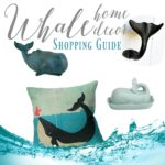 My Favorite Coastal Beach Style Whale Decor
