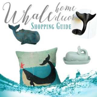Whale Themed Home Decor Shopping Guide
