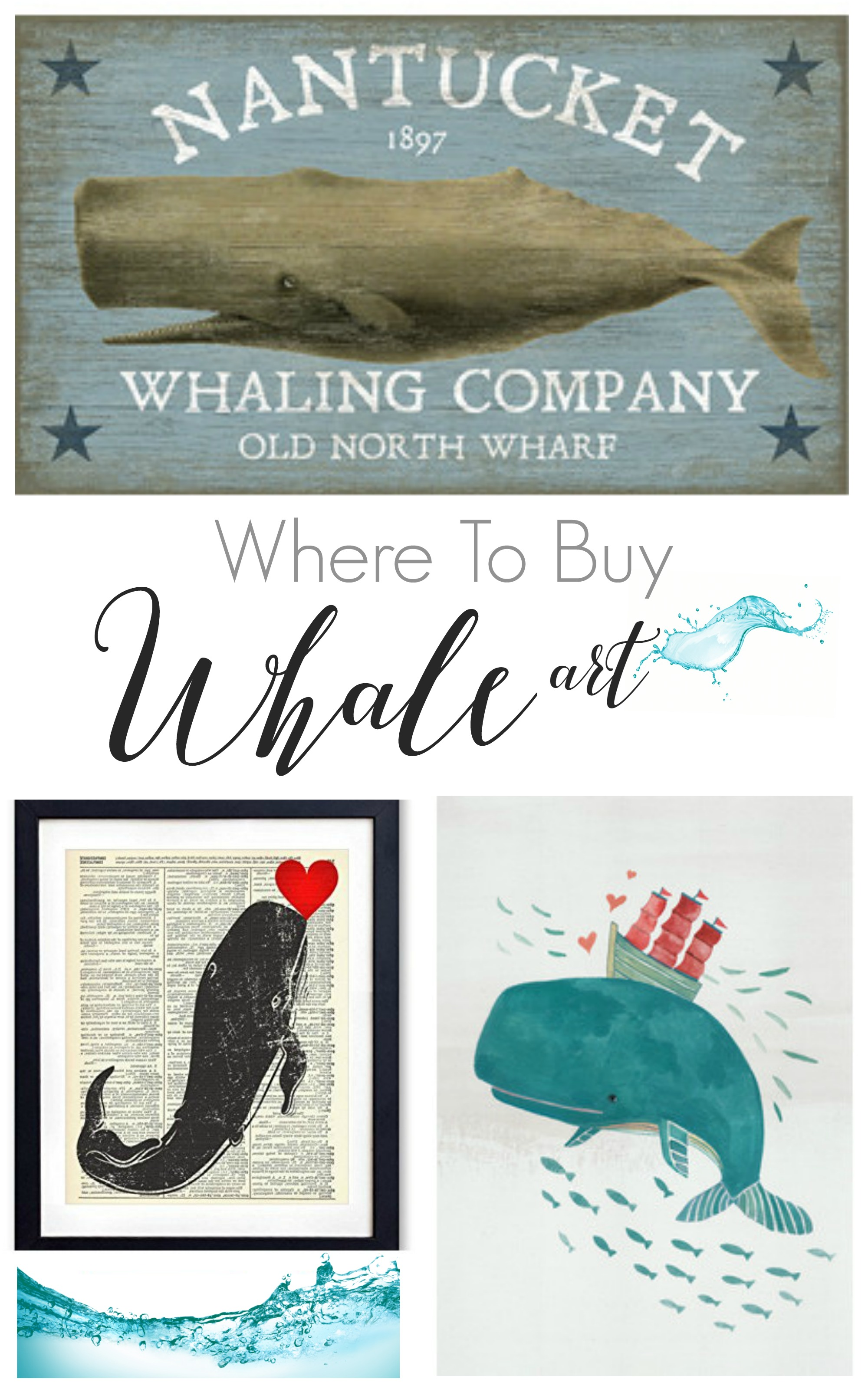 where to buy whale art