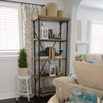Affordable Farmhouse Shelves no DIY required