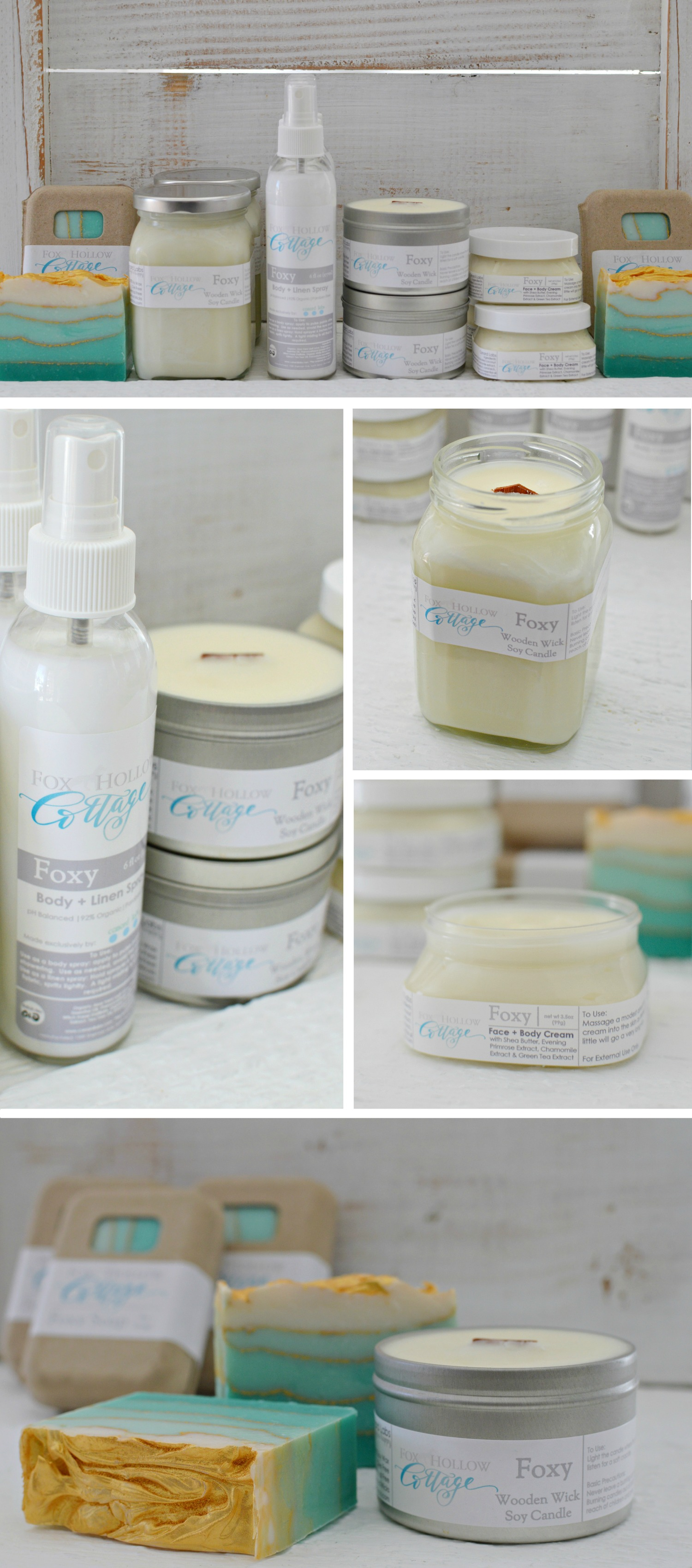 FOXY foxhollowcotttage.com Fox Hollow Cottage Home & Body Fragrance Line