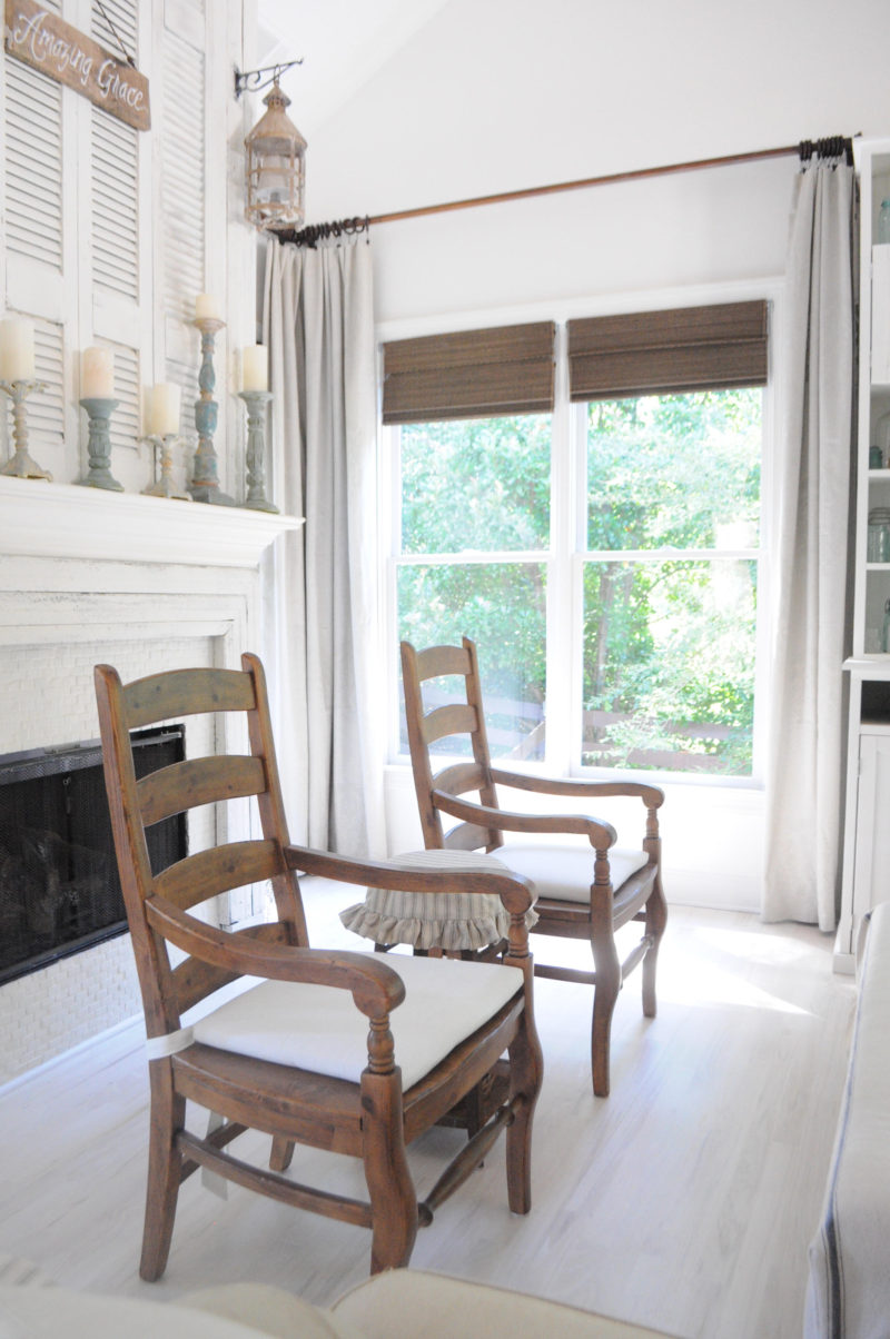 Life On The Shady Grove Farmhouse Home Tour. The Fireplace & Mantel.