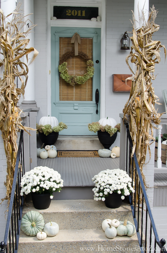 Fall Front Porch, Simple Fall Decor Ideas