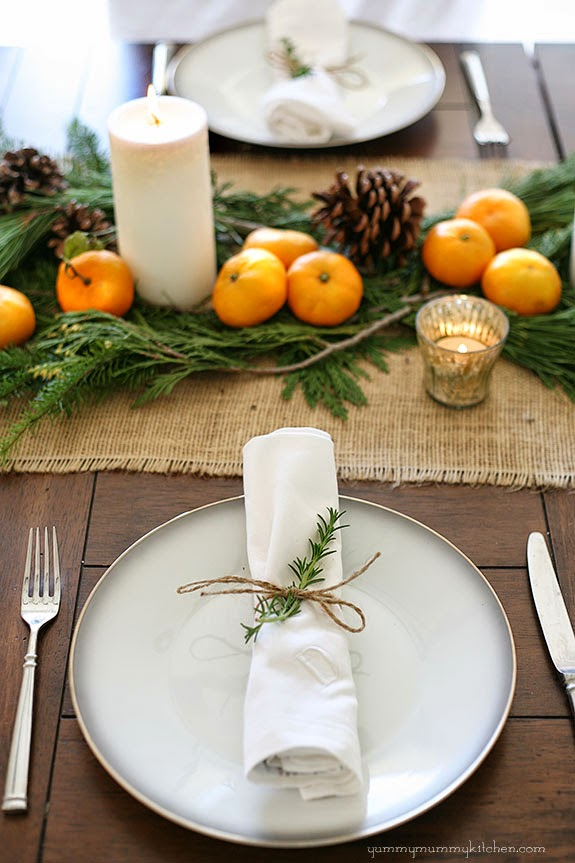 Fall Thanksgiving Tablescape, Simple Fall Decor Ideas