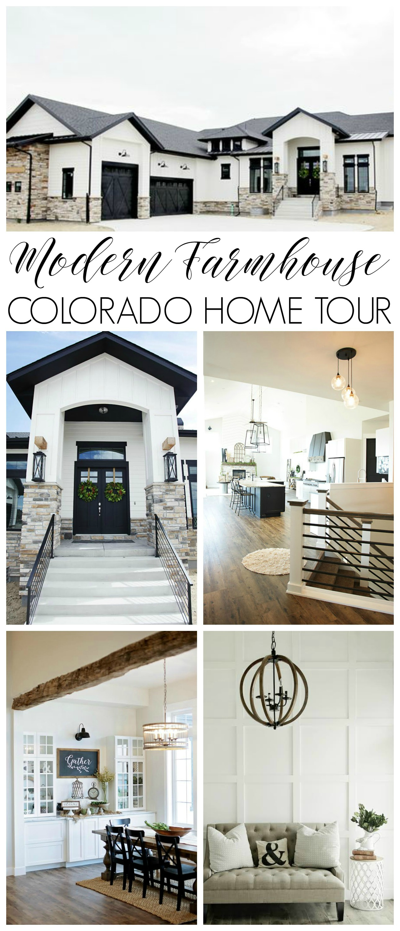 custom built modern farmhouse home tour with household no 6 youll find rustic - Modern Homes Tour