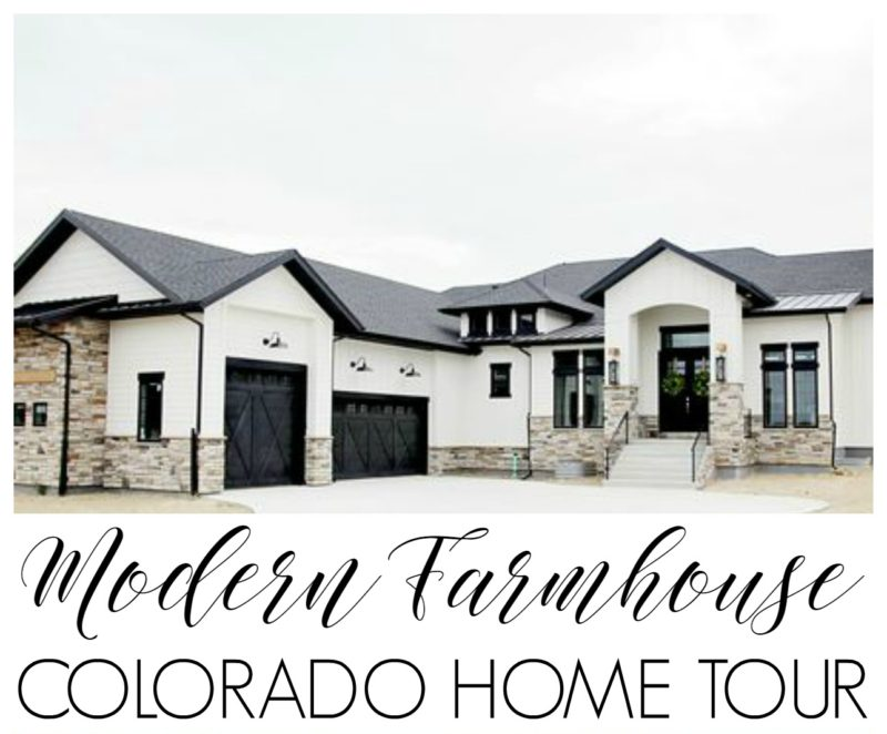 Modern farmhouse home tour with household no 6 for Colorado style home plans