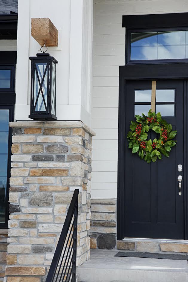 Custom Built Modern Farmhouse Home Tour with Household No 6 - Beam and Lantern Light Fixture