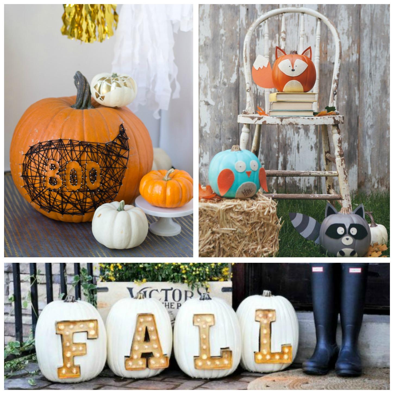 Decorating Ideas: 31 Fabulous Pumpkin Decorating Ideas