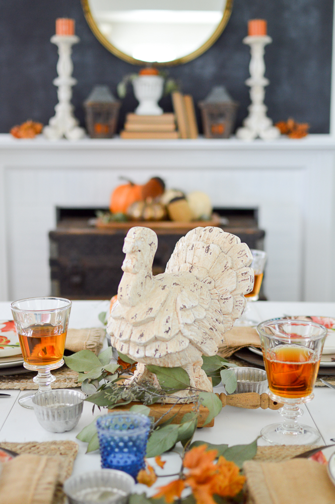Budget and Beginner Friendly Thanksgiving Tablescape - table decorating ideas