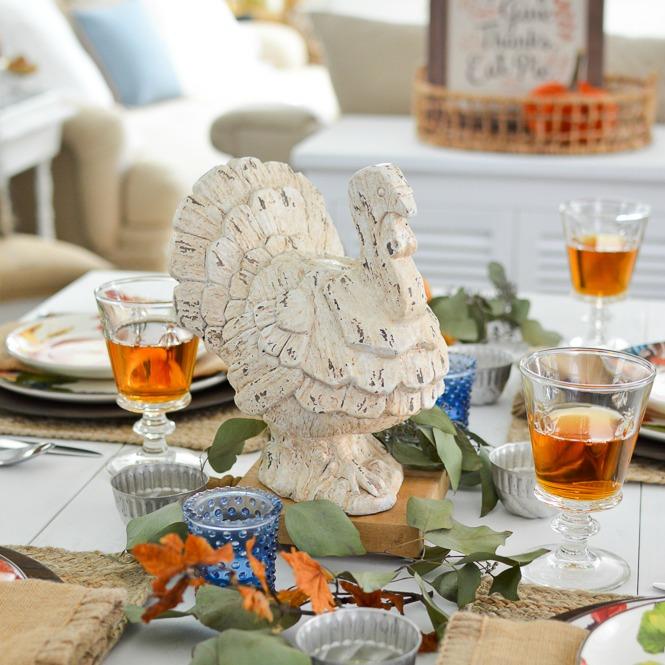 Miraculous Beginner Friendly Thanksgiving Tablescape Fox Hollow Cottage Short Links Chair Design For Home Short Linksinfo