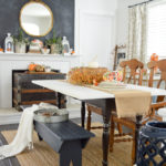 Autumn Home Decorating: Simple Fall Table
