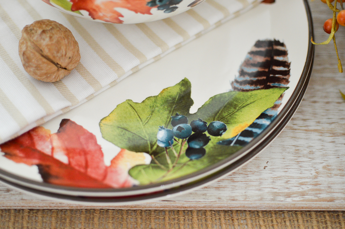 Easy Autumn Home Decorating: Simple Fall Table - Fall at Fox Hollow Cottage