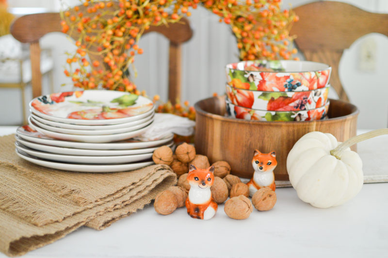 Easy Autumn Home Decorating Simple Fall Table