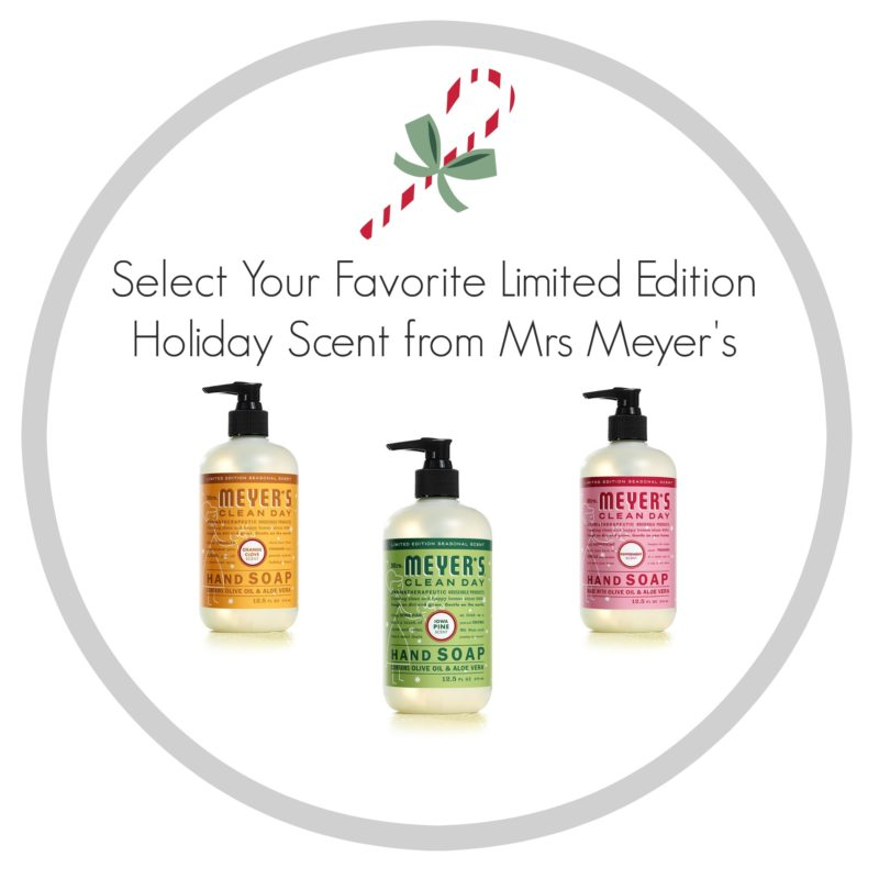 Mrs Meyer's Limited Edition Free Cleansers www.foxhollowcottage.com Special Holiday Offer