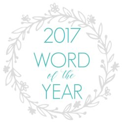 2017 Word Of The Year (Plus a FOXY Giveaway)