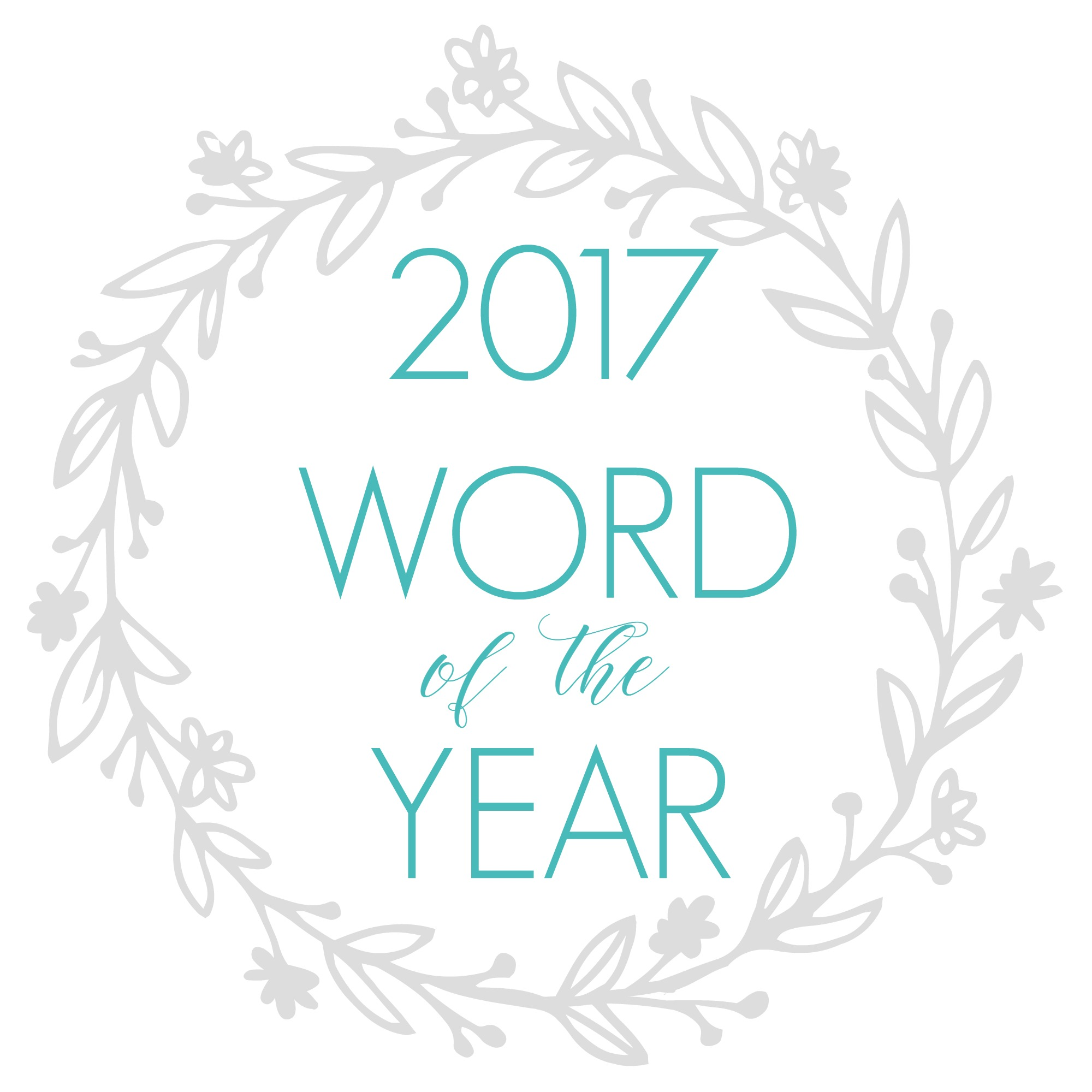 2017 Word Of The Year foxhollowcottage.com Plus a FOXY Home & Body Giveaway